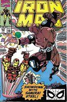 Iron-Man Comic Issue 257 Copper Age First Print 1990 Frenz Yanizeski Albrecht