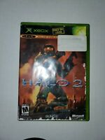 Halo 2 (Xbox, 2004) with limited collectors edition disc