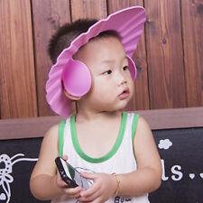 Baby Kids' Ear Protective Bathing Hair Washing Showering Hat Cap Ajustable Size