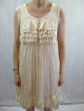 Robert Rodriguez Size 8 Cream Silk Formal Dress