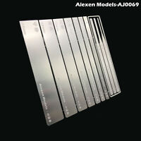 10 in 1 Stainless Steel Model Grinding Stick File Parts Set Hobby Craft Tool BEU