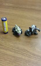3rd Generation Pokemon plastic figure set(lot)  Lairon Aggron 1-2 inches tall