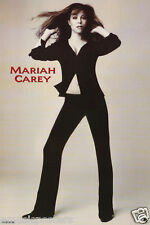 "MARIAH CAREY ""DAYDREAM"" COMMERCIAL POSTER - Wearing Black Pants & Wind Blown Top"