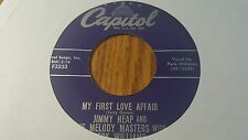 Jimmy Heap And The Melody Masters With Perk Williams ~ Just For Tonight  ~ (VG+)