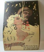 Vintage Programme Latin Quarter, Colorful Broadway Theatre Manhatten Masquerade