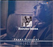 Paul BADURA-SKODA: SCHUBERT Piano Sonata D.784 959 CD Klaviersonaten 2008