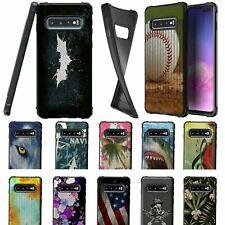 For Samsung Galaxy S10 Plus / S10+ G975 Black Slim Textured Flexible TPU Case