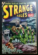 SCARCE ~ Strange Tales #27 (1954) Atlas Comics G/VG