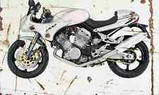 Voxan CafeRacer1000 2001 Aged Vintage SIGN A4 Retro