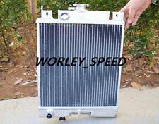 Aluminum Radiator For Suzuki Swift GTI MT 1.0L/1.3L/1.6L 89-94 90 91 92 93 2Row
