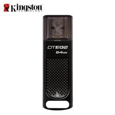 Kingston 64GB NEW Digital DataTraveler Elite G2 USB3.1 Flash Drive with Tracking