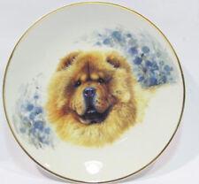 Chow chow Porzellan teller figur hund lichte dish dog