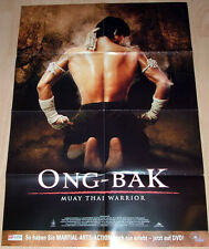 Tony Jaa  ONG BAK - MUAY THAI WARRIOR original Mediatheken Plakat A1