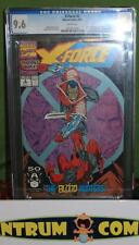 X-Force #2 CGC 9.6 - 2nd appearance DEADPOOL, a NM- Rob Liefeld Marvel key
