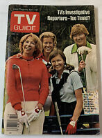 April 7, 1977 TV Guide~DINAH SHORE,WHAT'S HAPPENING,JAMES CROCKETT~Nashville ed.
