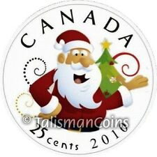Canada 2010 Holiday 7 Coin Mint Uncirculated Gift Set Santa Claus Christmas Tree
