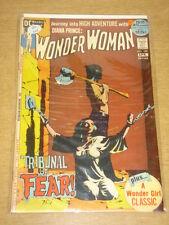 WONDER WOMAN #199 VF (8.0) BONDAGE COVER DC COMICS 52 PAGES APRIL 1972 **