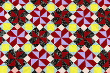 Patchwork Pinwheel QUILT TOP - Very nice look and feel to this quilt top