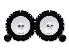 Alpine Lautsprecher SXE1750S 560W Kompo für BMW 3er Cabrio E46 2000-2007