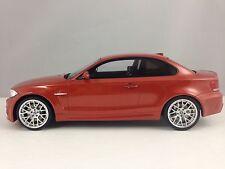 GT Spirit BMW 1 Series M1 Coupe (E82) Metallic Orange Resin Model Car 1/18