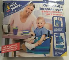 The First Years On-the-Go Booster Seat -Portable, Travel, Convenient 6-18 Months