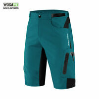 Baggy Cycling Shorts Mens MTB Mountain Bike 1/2 Padded Pants Sports Loose-fit