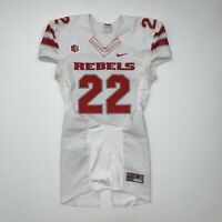Nike UNLV Rebels Game Worn Football Jersey Adult Medium #22 NCAA White Red