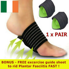 Arch Foot Support Plantar Cushion Fasciitis Aid Fallen Arches Heel Pain Relief