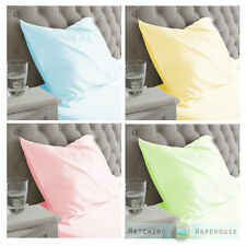Patternless Children's Pillow Cases
