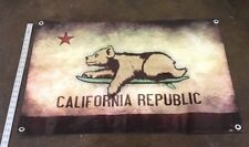 California flag surf poster board bear state banner surfing sign suit cap B149