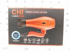 CHI 1400 Series Foldable Compact Hair Dryer Dual Voltage With Drawstring Bag
