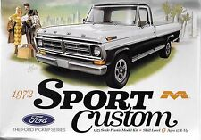 Moebius Models 1972 Ford Pickup, Sport Custom in 1/25 1220 ST