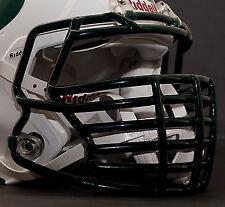 *CUSTOM* NEW YORK JETS Riddell SPEED Football Helmet Facemask - DARK GREEN