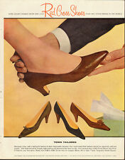 1962 Vintage ad for Red Cross Shoes`60's shoe fashions (010214)