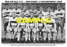 MILLWALL F.C. TEAM PRINT 1962 - DIVISION 4 CHAMPIONS