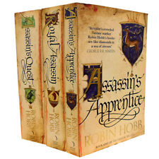 Robin Hobb Collection 3 Books Set Pack The Farseer Trilogy Series RRP £26.97