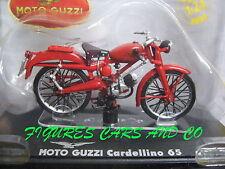 1/24 MOTO  GUZZI  CARDELLINO 65cc  1954 MOTORCYCLE MOTOBIKE MOTORRAD