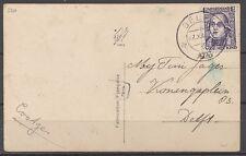 1½+1½c KIND '28 EF DELFT-6--27.XII.1926 LOKAAL VERZONDEN    Wp382