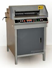 "SIGNSTECH 450mm Paper Cutter Guillotine Cutting Machine,17.7"" Electric ECONOMIC"