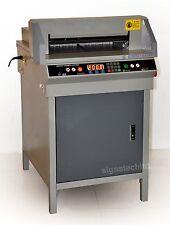 """450mm Paper Guillotine Cutter Stack Cutting Machine,17.7"""" Electric"""