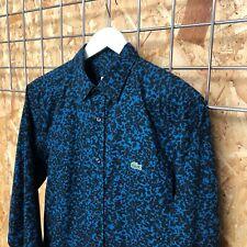 Increíble Lacoste Live Splatter Camisa EU 38 S Pequeño (2 3 4 XS?) L! ve Supremo COND.