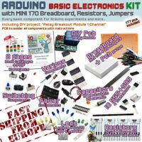 Arduino Kit - Electronic Starter Basic Pack [Mini Breadboard,Resistor,Jumper] EU