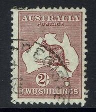 Australia SG# 110, Used, Pulled Top Perf - Lot 020617