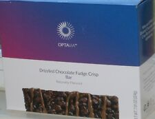 ❤️ MEDIFAST OPTAVIA DRIZZLED CHOCOLATE FUDGE CRISP BAR ~ FREE SHIP 7 MEALS 11/20