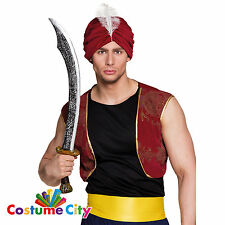 70cm Prop Sultan Sword Scimitar Arabian Pirate Fancy Dress Costume Accessory