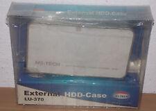 """Esterno enclosure disco 3,5"""" EIDE IDE USB 2.0 MS-TECH lu-370 anche per Apple"""