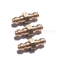 8mm Double Male Quick Disconnect Adaptor Brass Paintball For Air Pump Compressor