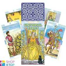 UNIVERSAL TAROT CARDS DECK LO SCARABEO ORACLE ESOTERIC FORTUNE TELLING NEW
