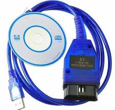 HOAU USB KKL VAG-COM 409.1 Cable For OBDII OBD2 Car Diagnostic Scanner