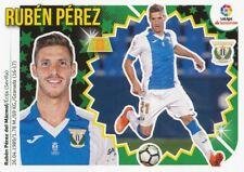 08 RUBEN PEREZ # ESPANA CD.LEGANES CROMO STICKER LIGA 2019 PANINI ESTE